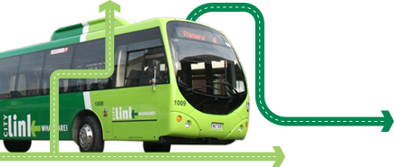 City link bus graphic