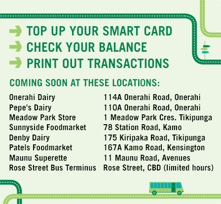 Top up your Smart Card - Check your Balance - Print out Transactions
